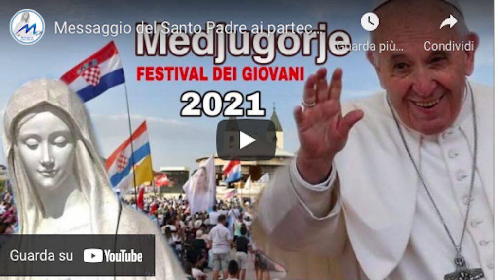 Medjugorje: il Papa vicino ai giovani presenti al 32°  Festival