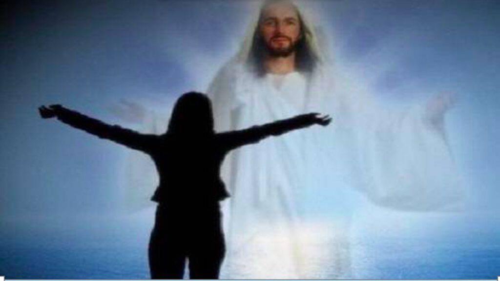 Donna che loda il Signore