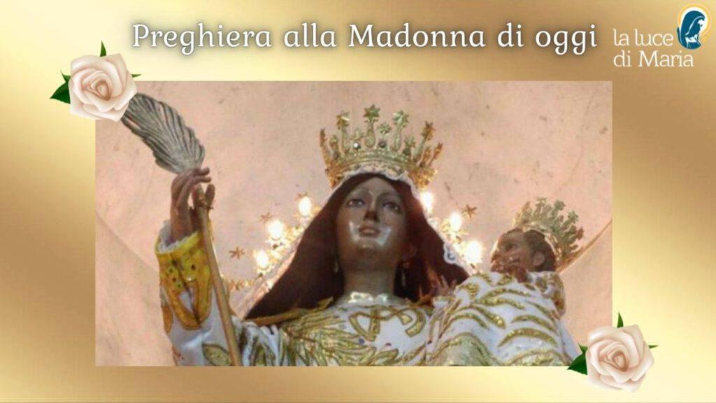 Preghiera di oggi 21 settembre alla Madonna della Pace