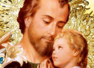 san Giuseppe con Gesù