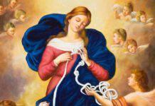 Maria che scioglie i nodi