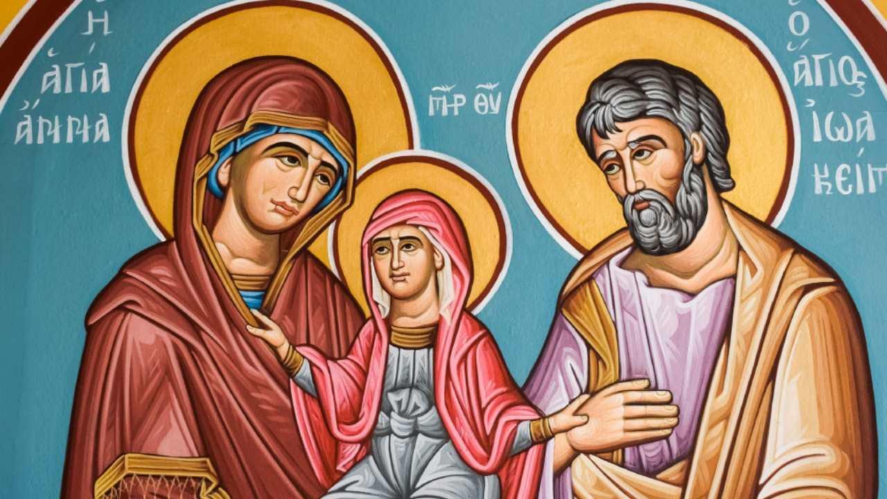Maria Santissima, Gioacchino e Anna