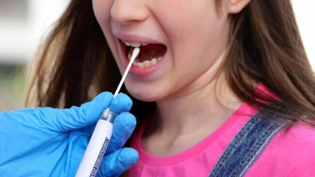 test salivari