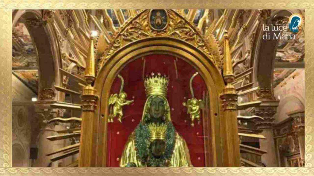 Preghiamo oggi 16 ottobre la Madonna di San Gerardo che lo protegge per tutta la vita