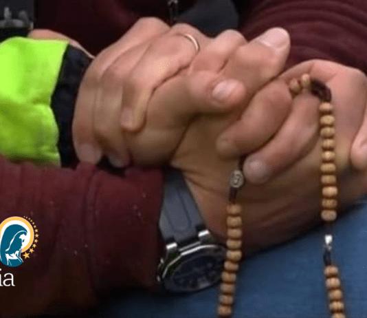 portuali preghiera trieste