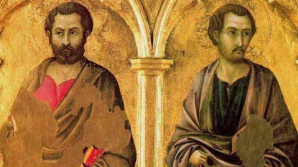 Oggi 28 ottobre preghiamo Santi Simone e Giuda Taddeo, potenti intercessori di Cristo