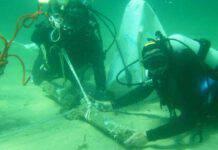 ritrovamento subacqueo