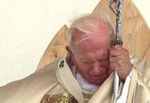 Giovanni Paolo II sofferente