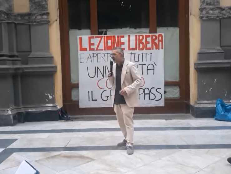 Protesta No Green Pass