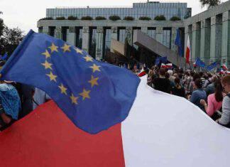 bandiera polonia unione europea